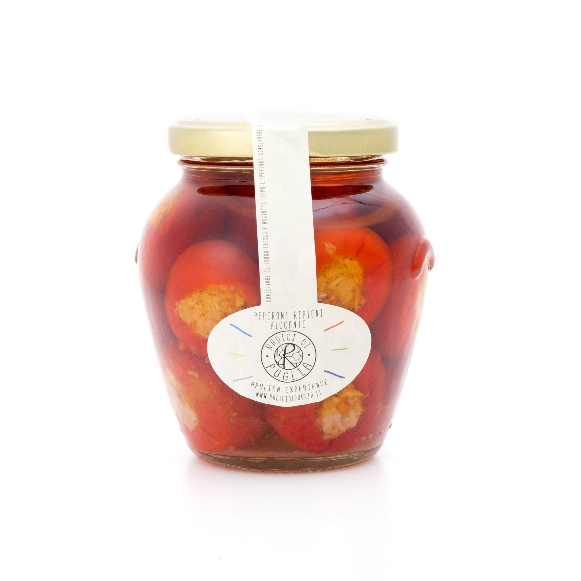 sott'olio pomodori ripieni